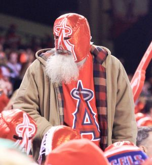 Angels Superfan - The beard is real.