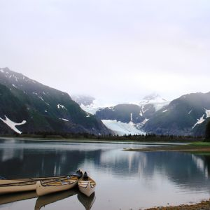 Pedersen Lagoon and Glacier (Kenai Fjords National Park)