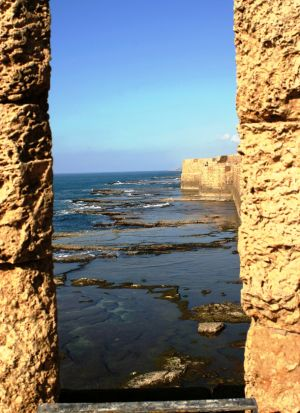 Sea at Acre (Israel)