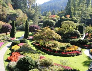 Butchart Gardens (Vancouver Island). Human creativity at its best. In 1921 the Butchart family transformed their rock quarry near Victoria, BC into a sumptuous sunken garden. An eyesore became a sight for sore eyes from around the world.