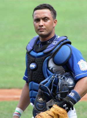 Conductor - The best catcher in the country contemplates a tough day behind the plate.