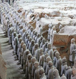 Raising an Army (Terra-Cotta Soldiers, Xian)