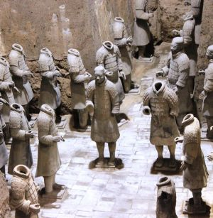 Off with Their Heads (Terra-Cotta Soldiers, Xian)