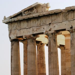 Parthenon at Sunset (432 BC)